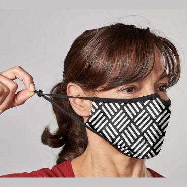 Masque textile Rose avec filtre remplaçable - adulte Accueil 24,17€