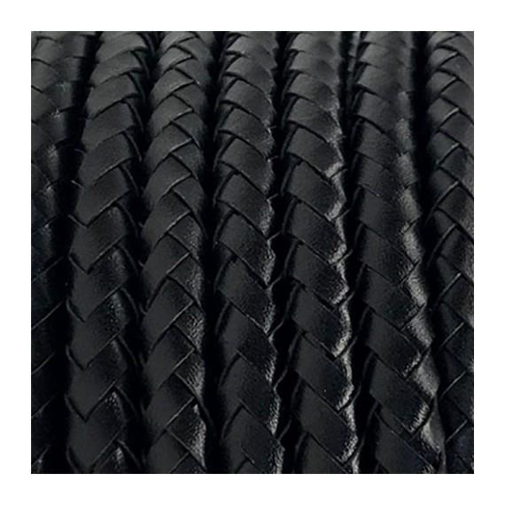 Câble cuir noir - 2x0.75mm2 Fil électrique tissu câble rond 2x0.75 mm² 7,50€