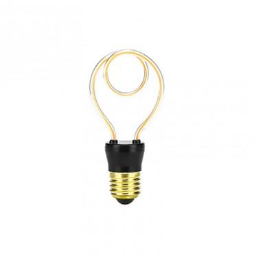 Ampoules Ampoule led design Silhouette spirale 4W