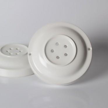 Composants Rosace porcelaine blanche 5 sorties