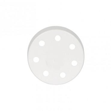 Rosace Blanche Multi 7 sorties Composants 7,42€