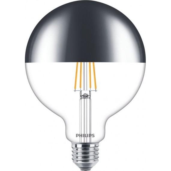Ampoules LED LEDglobe E27 G120 8W Miroir Dimmable - Substitut 50W