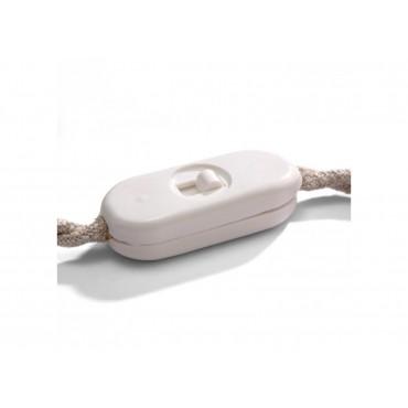 Interrupteur filaire unipolaire vintage blanc Fiches et interrupteurs 4,08€