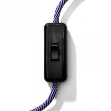 Interrupteur à bascule vintage - unipolaire noir Fiches et interrupteurs 4,08€