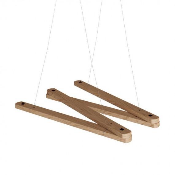 Suspension ZIKZAK bois Accessoires et Installation 22,00€