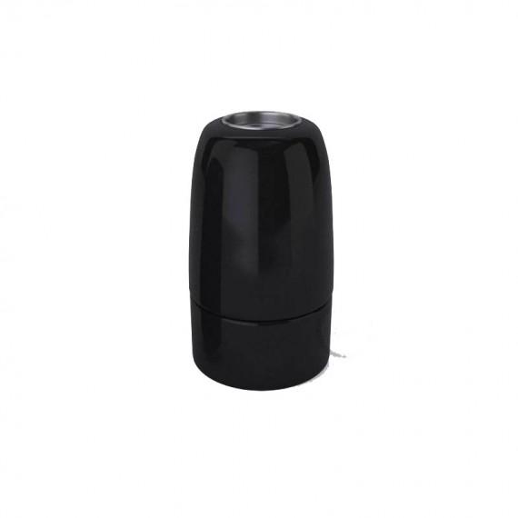 Douille Lampe E14 en Porcelaine Noire Composants 5,75€