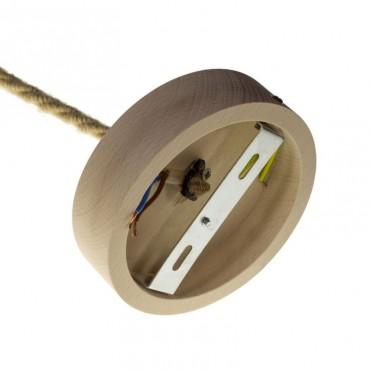Rosace cylindrique bois - 88mm Composants 9,92€