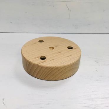 Rosace cylindrique bois - 3 sorties Composants 10,75€