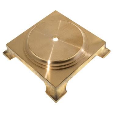Pied de lampe laiton 130mm Lustrerie 13,83€