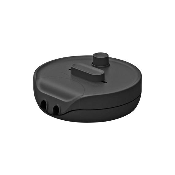 Variateur d'intensité rond - noir compatible LED Fiches et interrupteurs 24,17€