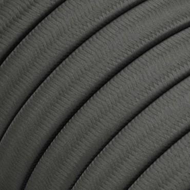 Câble Textile plat 2x1.5mm2 gris pour Guirlande LnD Guirlandes 4,17€