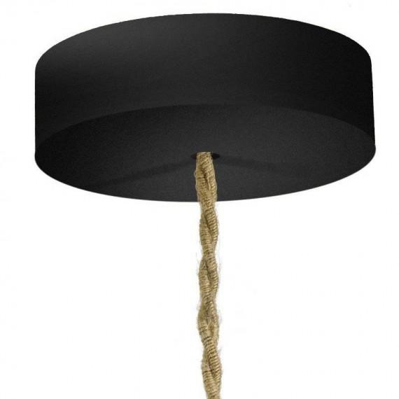 Rosace cylindrique bois noir - 88mm Composants 10,75€