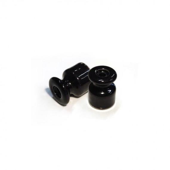 Grip isolant porcelaine noir Composants 3,25€