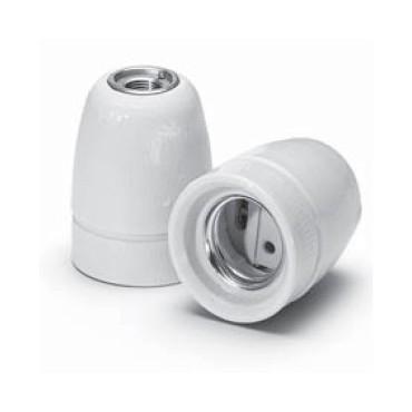 Douille ampoule E27 en Porcelaine Blanche Douille lampe E27 Porcelaine 4,92€