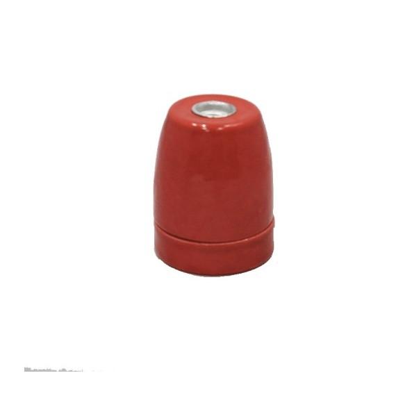 Douille ampoule E27 en Porcelaine Rouge Douille Lampe E27 Porcelaine 5,42€