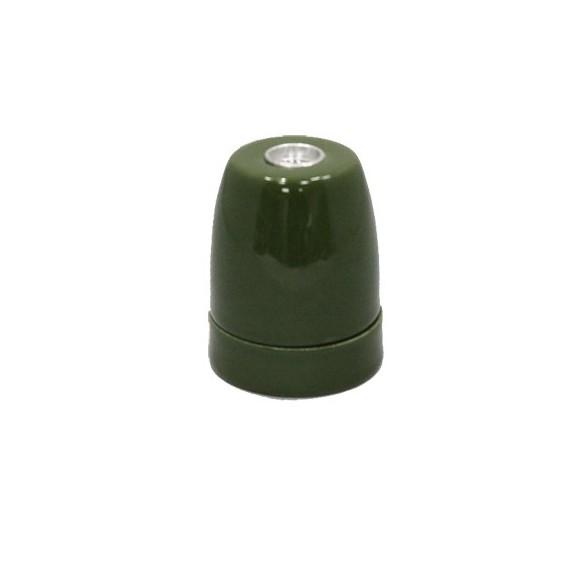 Douille ampoule E27 en Porcelaine Verte Douille lampe E27 Porcelaine 5,42€