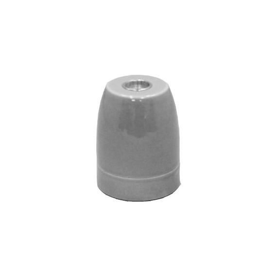 Douille ampoule E27 en Porcelaine Grise Douille lampe E27 Porcelaine 5,42€