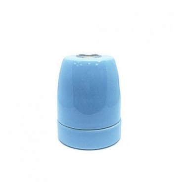 Douille ampoule E27 en Porcelaine bleu azur Douille Lampe E27 Porcelaine 5,42€