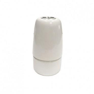 Douille en Porcelaine Blanche E14 Composants 5,42€