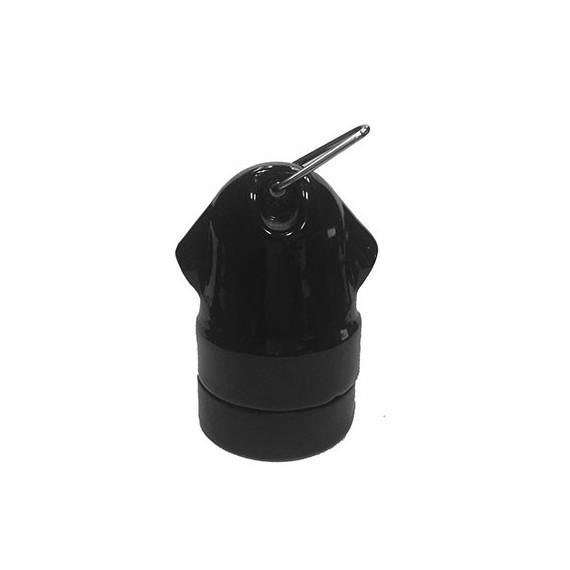Douille en Porcelaine guirlande noire E27 Douille Lampe E27 Porcelaine 6,58€