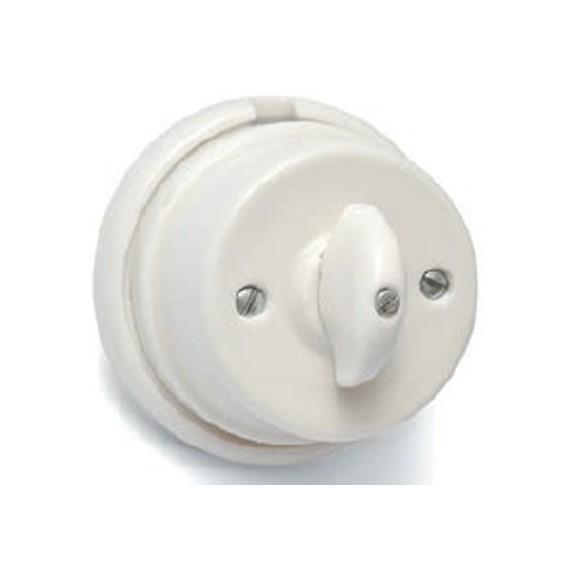 Interrupteur Porcelaine Blanche Composants 31,67€