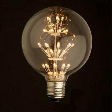 Ampoules Ampoule Globe Baroque LED