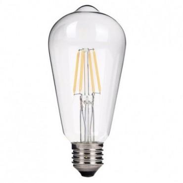 Ampoule ST64 LED E27 - 6W Dimmable Ampoules 9,92€