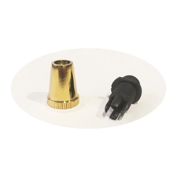 Serre-câble finition laiton Composants 2,04€