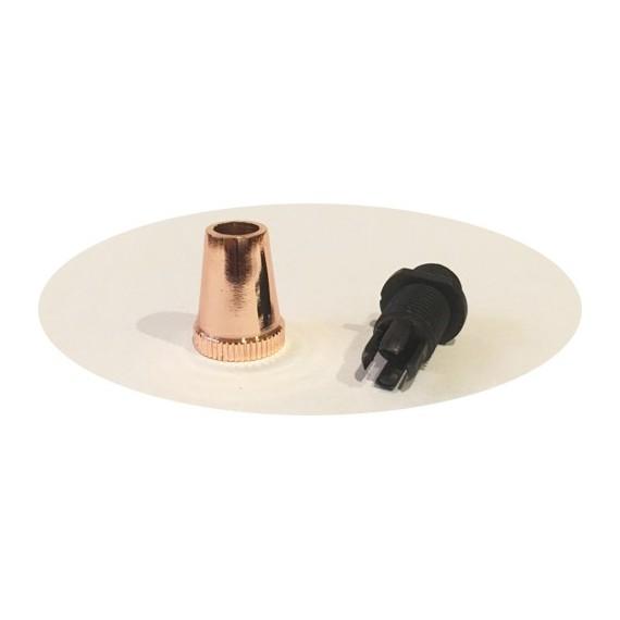 Serre-câble finition cuivre Composants 2,04€