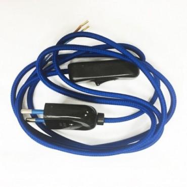 Kit Câble électrique bleu italien Prêts à l'emploi 10,00€