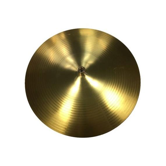 Lampe abat-jour cymbale laiton Prêts à l'emploi 20,00€