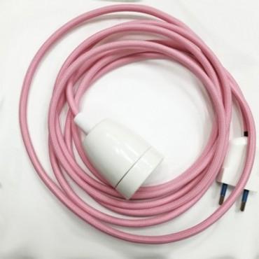 Baladeuse Rose Pastel 3m