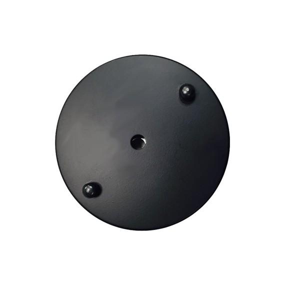 Rosace Métal Noir 100mm Composants 5,83€