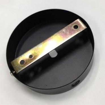 Rosace Métal Noir 80mm Composants 7,50€