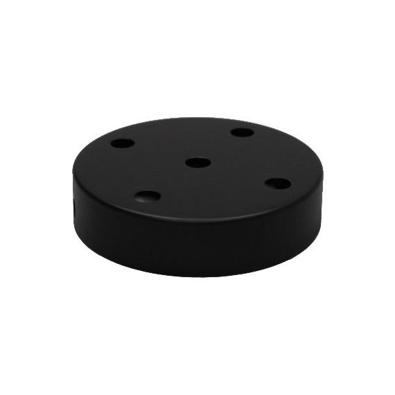 Rosace Métal Noire 5 sorties Composants 7,42€