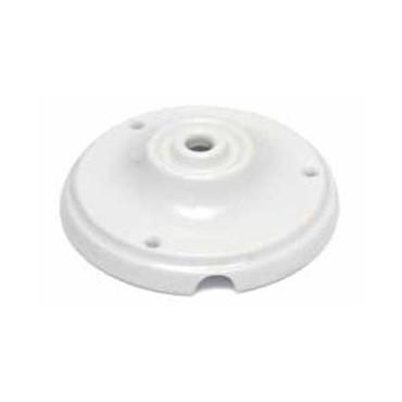 Rosace Porcelaine Blanche Composants 8,25€
