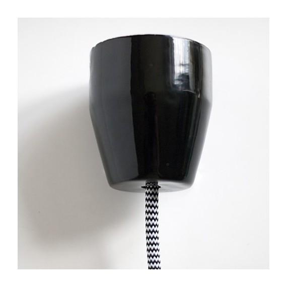 Rosace Porcelaine noire PURE Composants 14,08€