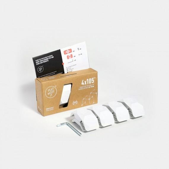 Connecteur 105 blanc Concept Store 14,92€