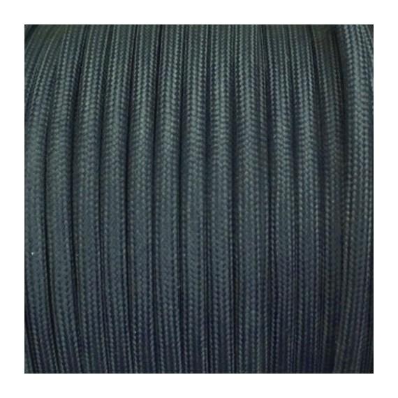 Câble Textile Gris Ardoise Fil électrique tissu câble rond 2x0.75 mm² 2,33€