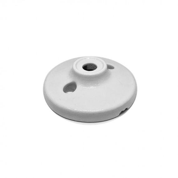Rosace Porcelaine Blanche 70mm Composants 7,42€