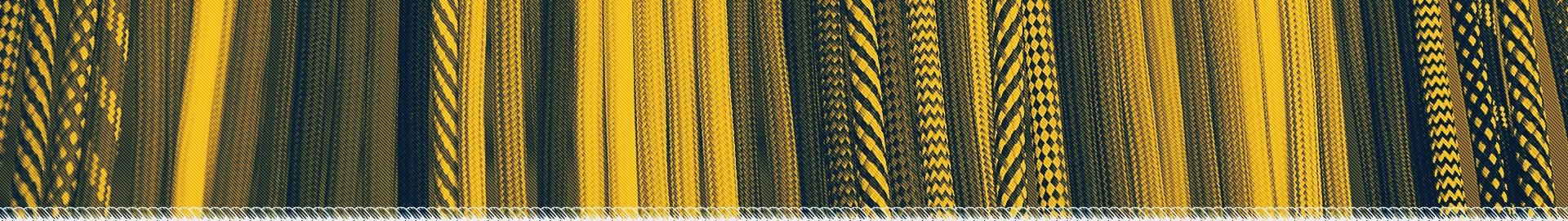 Câbles textiles de couleur pour luminaires